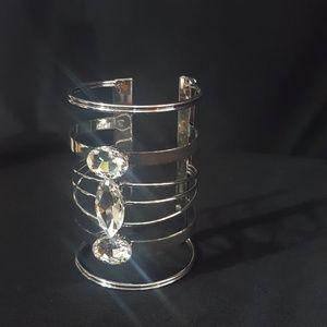 Jewelry - Silver Sleeve Cuff Bracelet